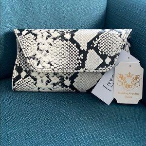 Handbags - 💕Python Clutch/Crossbody 💕